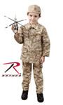Rothco 66225 Rothco Kids Military BDU Shirt - Desert Digital Camo
