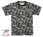 Rothco 66231 66231 Men's Black Faded Guns Pattern T-Shirt