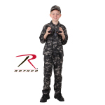 Rothco 66425 Rothco Kids Bdu Shirt-Subdued Urban Digital Camo