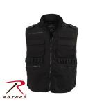 Rothco 66574 Rothco Ranger Vest - Black