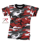 Rothco 66700 Rothco Kids T-Shirt - Red Camo