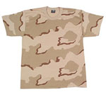 Rothco 66706 Jr. GI Kids Tri-Color Desert Camo T-Shirt