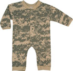 Rothco 67058 Long Sleeve/ Leg Army Digital Infant One-Piece