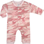 Rothco 67059 Long Sleeve/Leg Baby Pink Infant One-Piece