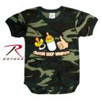 Rothco 67077 Rothco Infant One-Pc / Choose Your Weapon-Camo