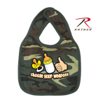 Rothco 67078 Rothco Infant Bib/Choose Your Weapon-Wdland Camo