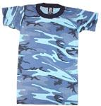 Rothco 6707 Boy's Sky Blue Camo T-Shirt