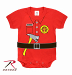 Rothco 67097 Rothco Infant One Piece - Red - Fireman Uniform