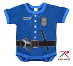 Rothco 67099 Infant One Piece - Navy - Police Uniform
