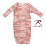 Rothco 67159 Infant Baby Pink Camo Long Sleeve One Piece Sleeper