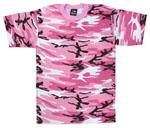 Rothco 6736 Rothco Kids Military T-Shirt / Pink Camo