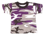 Rothco 6743 Ultra Violet Camouflage Kids T-Shirt