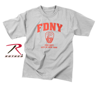 898ad2b1 Rothco   6774   6774 Officially Licensed Fdny P/T T-Shirt  T-Shirts ...