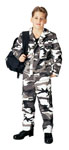 "Rothco 6791 Boys ""city"" Camo Military B.D.U.'s"