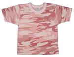 Rothco 6863 T-Shirt - Infant - Baby Pink Camo