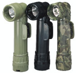 "Rothco 689 GI""D"" Anglehead Flashlight - Black"