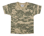 Rothco 6929 T-Shirt - Infant - ACU Digital Camo