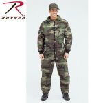 Rothco 7016 7016 Mens Camouflage Insulated Coveralls
