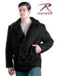 Rothco 7065 7065 U.S. Navy Type Wool Peacoat - Black
