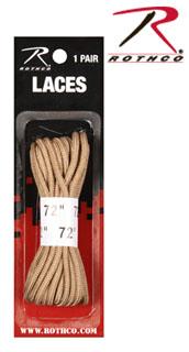 Rothco 7159 72'' Tan Boot Laces