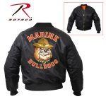 Rothco 7184 7184 Rothco Ma-1 Flight Jacket - Marine Bulldog