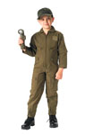 Rothco 7200 Jr. GI Kids O.D. Air Force Type Flightsuit