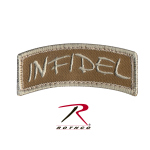 Rothco 72199 Rothco Infidel Shoulder Patch - Hook Backing