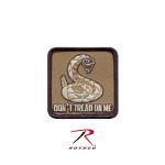 Rothco 72201 Rothco Don't Tread On Me Patch - Hook Backing