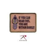 Rothco 72202 Rothco ''if You Can Read This'' Patch-Hook Backing