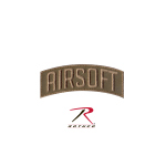 Rothco 72207 Rothco Airsoft Shoulder Patch - Hook Backing
