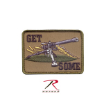 Rothco 72208 Rothco Get Some Patch - Hook Backing