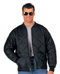 Rothco 7230 Black Diamond Quilted Flight Jacket
