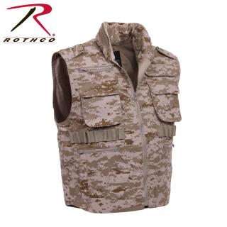 Rothco 72551 72551 Rothco Ranger Vest - Desert Digital Camo