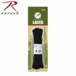 Rothco 7258 Rothco Boot Laces - Black / 61''