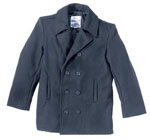 Rothco 7270 Rothco Wool Pea Coat - Navy