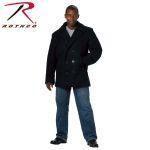 Rothco 7271 7271 Rothco Wool Pea Coat - Navy