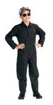 Rothco 7301 Jr. GI Kids Black Air Force Type Flightsuit