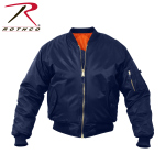 Rothco 7312 Rothco Kids Ma-1 Flight Jacket-Navy Blue