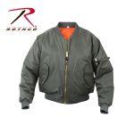 Rothco 7326 7326 Rothco Ma-1 Flight Jacket - Sage