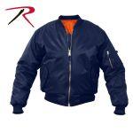 Rothco 7335 7335 Rothco ® Navy Blue Ma-1 Flight Jacket