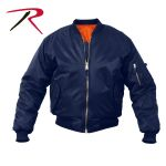 Rothco 7368 7368 Rothco ® Navy Blue Ma-1 Flight Jacket