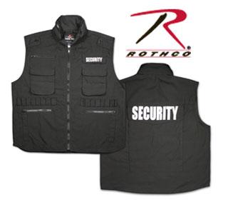 Rothco 7457 7457 Rothco Ranger Vest / Security - Black