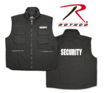 Rothco 7458 7458 Rothco Ranger Vest / Security - Black