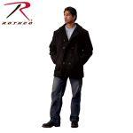 Rothco 7472 7472 Rothco Wool Pea Coat - Black