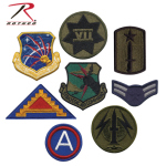 Rothco 7489 Assorted Military Patches - 50