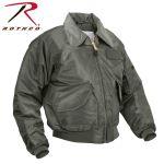 Rothco 7521 7521 7520 Rothco Cwu-45p Flight Jacket - Sage