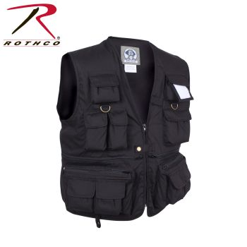 Rothco 7532 7532 Uncle Milty Black Travel Vest