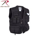 Rothco 7533 7533 Uncle Milty Black Travel Vest