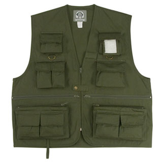 Rothco 7540 Uncle Milty O.D. Travel Vest