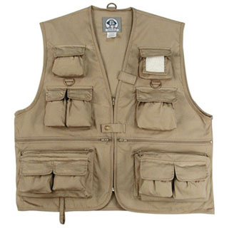 Rothco 7546 Uncle Milty Khaki Travel Vest